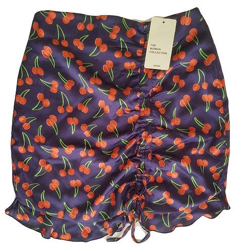 חצאית מיני בשיק דובדבני L I