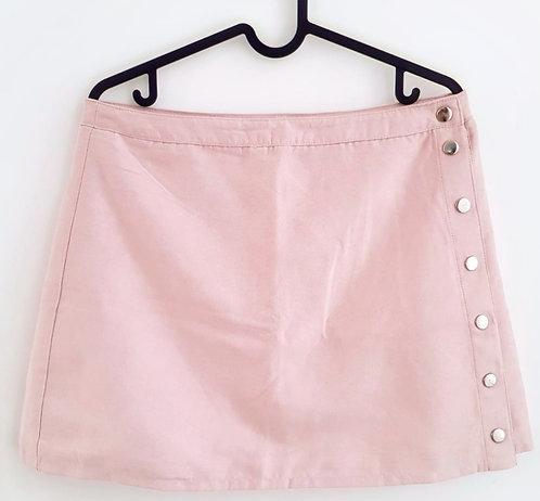 חצאית מיני זמש ניוד מעטפה L I