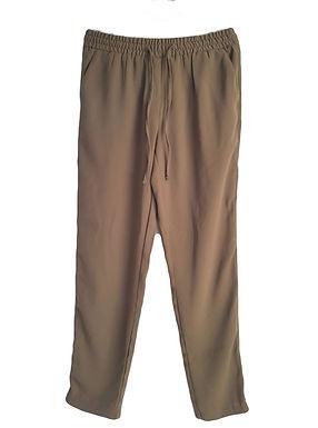 מכנסי צ'ינו ירוק זית M I PULL&BEAR