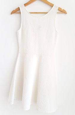 שמלת רטרו מתנפנפת XS I H&M