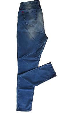 ג'ינס דק גזרה גבוהה L I CASTRO