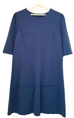 כחול פטרול A שמלת XL I CASTRO