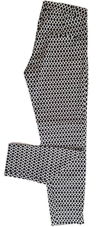 מכנסיים מחויטים בהדפס רטרו S I H&M