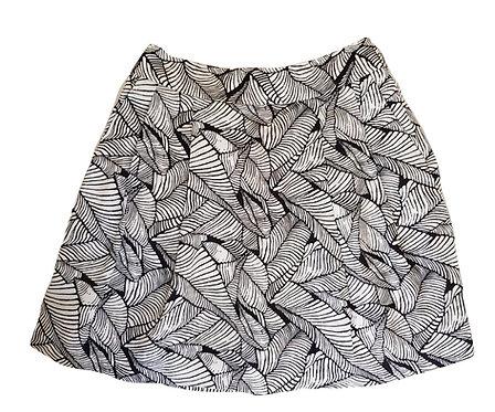 חצאית פשתן מושלמת! S I ANN TAYLOR