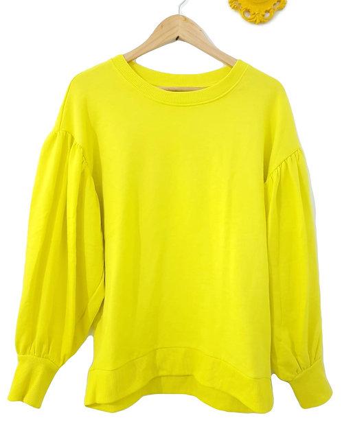 חולצה צהובה זרחנית S I Bershka