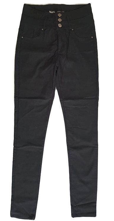 מכנסי סטרץ אלגנט בגזרה גבוהה S\M | IBiza