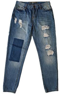 ג'ינס בויפריינד קרעים S I GOLF