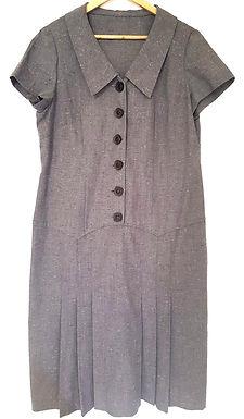 שמלת וינטג' מידי XL I VINTAGE