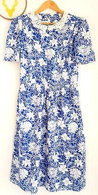 שמלת וינטג' מדהימה L/XL VINTAGE I