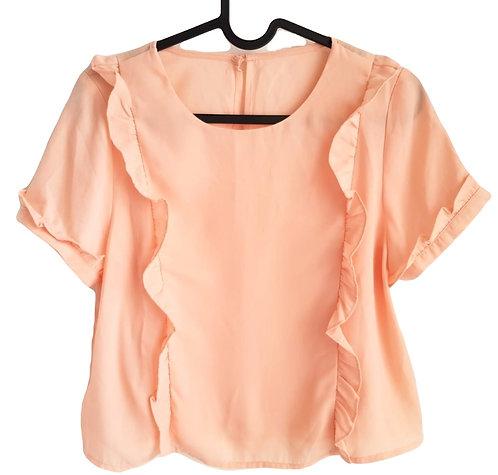 חולצת וינטג' אפרסק S I  VINTAGE I