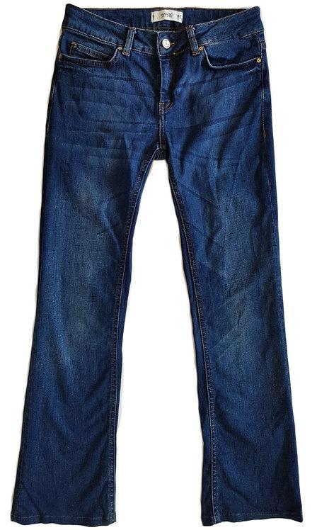 ג'ינס בגזרה נמוכה ומתרחבת M I MANGO