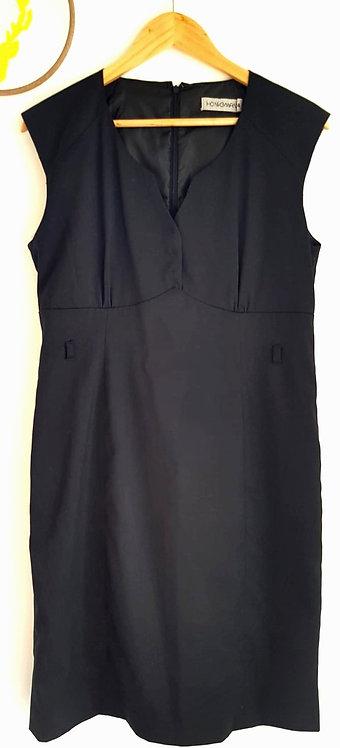 שמלה מחטבת L I HONIGMAN