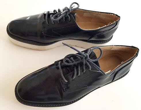נעלי טוקסידו לקה פלטפורמה 38 | ZARA