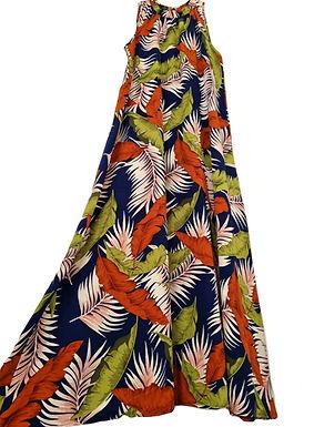 שמלת עלים מלאת בד M   רוני עיצובים