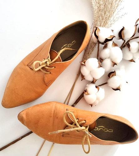 נעלי עור שטוחות 36 | Yanga
