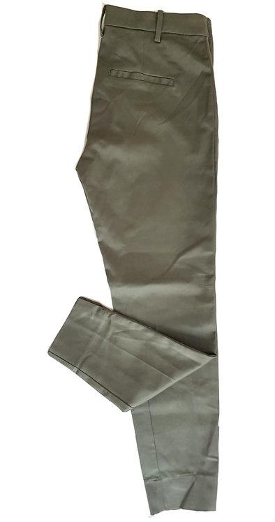 מכנסיים מחויטים ירוק זית S I H&M