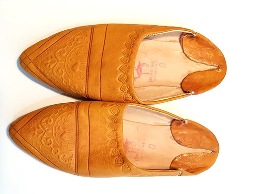 39 נעלי עור בעיטור מרוקאי Morocco I