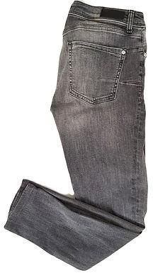 ג'ינס אפור קרעים M I MANGO