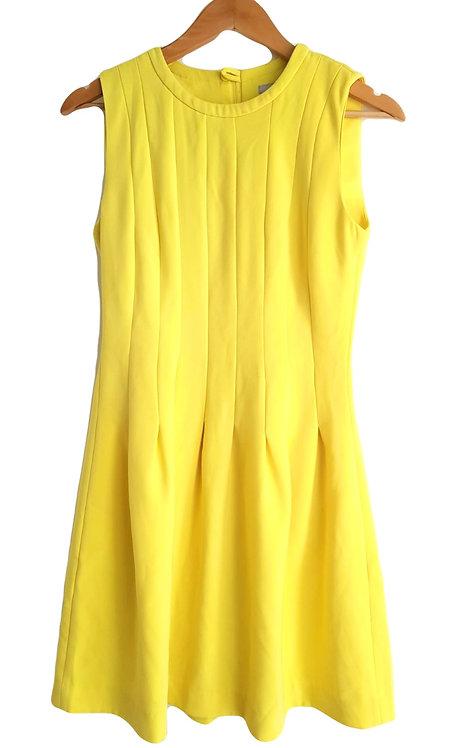 שמלה מחויטת לימונית S I H&M