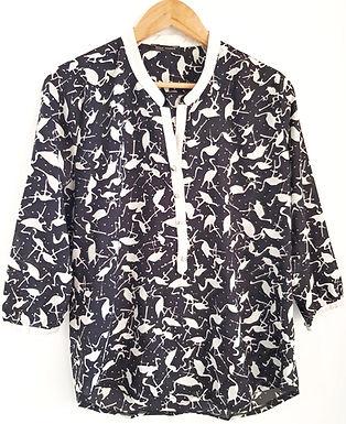 חולצת פלמינגו מונוכרום M I