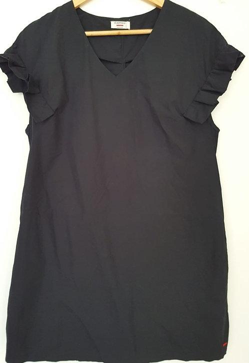 שמלה שחורה קצרה M I CASTRO
