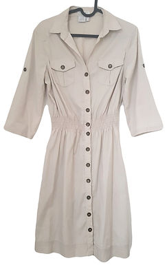שמלה בסגנון טרנץ רטרו M I CASTRO