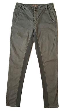 ג'ינס גבוה ירוק זית S I tsumi by GOLF