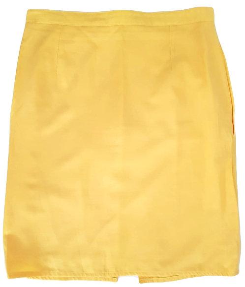חצאית צהוב לימוני M I