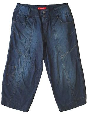 ג'ינס 4\3 בגזרה גבוהה ורחבה  L I YAEL ORGAD