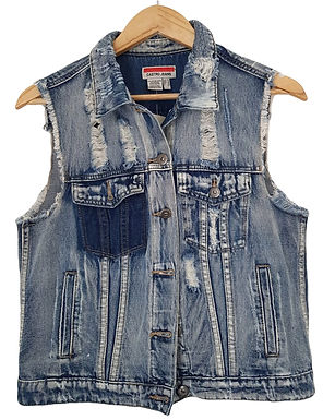 ווסט ג'ינס במראה משופשף L I CASTRO