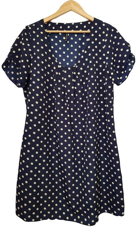 שמלה קלילה ומנוקדת L | ONOT