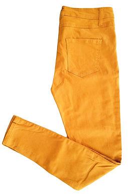 סקיני גבוה צהוב חרדל M I Renuar