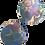 Thumbnail: עגילי קליפס רטרו