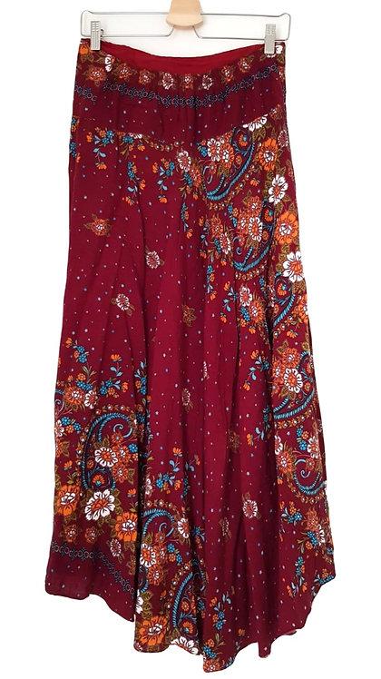 חצאית מקסי ססגונית S I