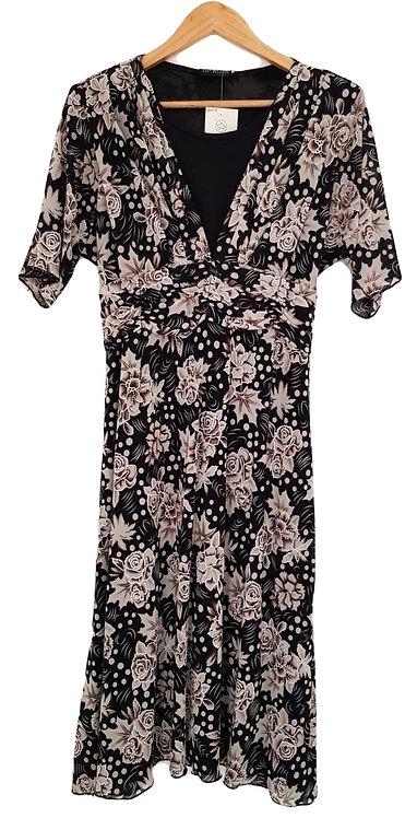 שמלת מידי צנועה ומתנפנפת XL I SARINA