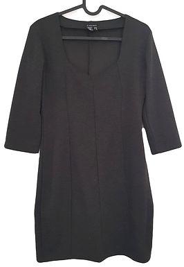 שמלת צמר מחויטת M I CASTRO