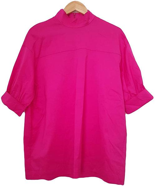 חולצה היסטרית ורוד פוקסיה M | ZARA