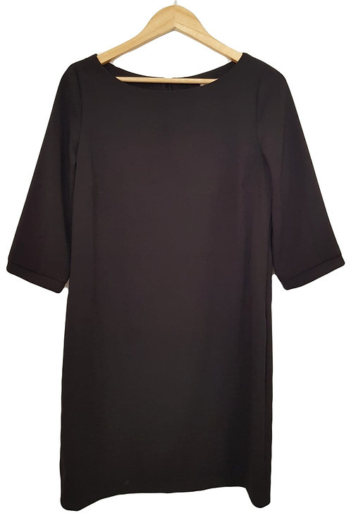 שמלה קלאסית בגזרה ישרה M I MISS SEXY
