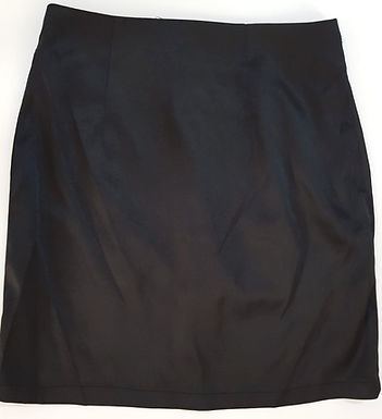 חצאית מיני סאטן שחורה I M