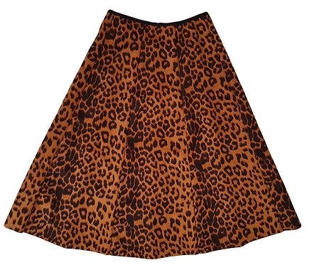 חצאית קלוש מידי מנומרת מטריפה! XS\S I