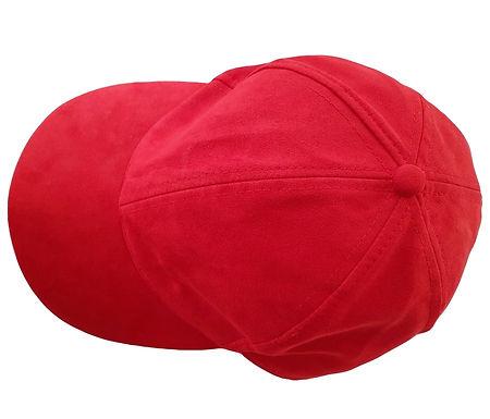 כובע זמש אדום L I H&M