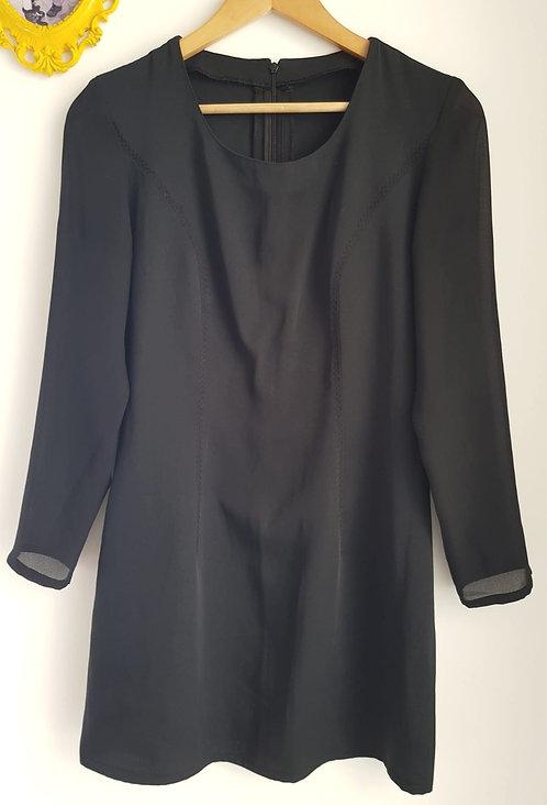 שמלת ערב שחורה XS I