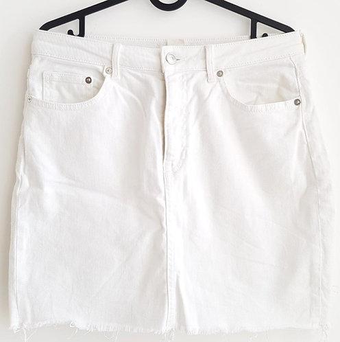 חצאית ג'ינס מיני מושלמת M I H&M