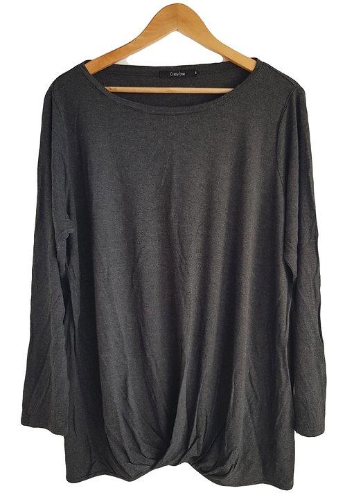 חולצת ג'רסי עם טויסט XXL I Crazy Line