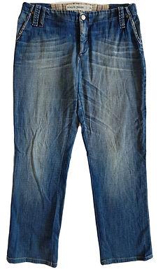 ג'ינס בגזרה נמוכה וישרה L I HAGIT TASSA