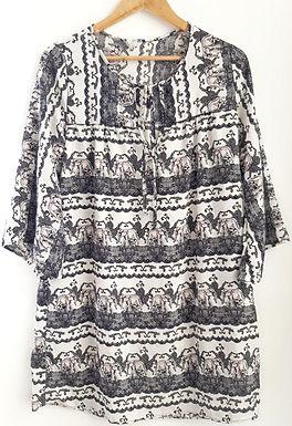 שמלה בוהו שיק M I GALITA