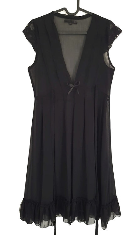 שמלת שיפון רומנטית M I RENUAR