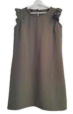 שמלת A ירוק זית M I