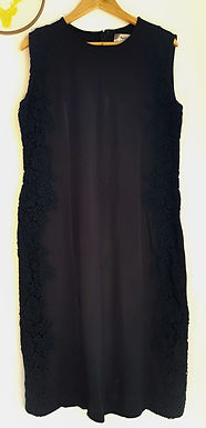 שמלה קלאסית מחטבת L I Mekimi