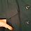 Thumbnail: שמלה מחויטת ירוק בקבוק L | GOLBARY